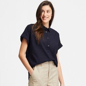 NWT Uniqlo Lightweight Cotton Buttondown S